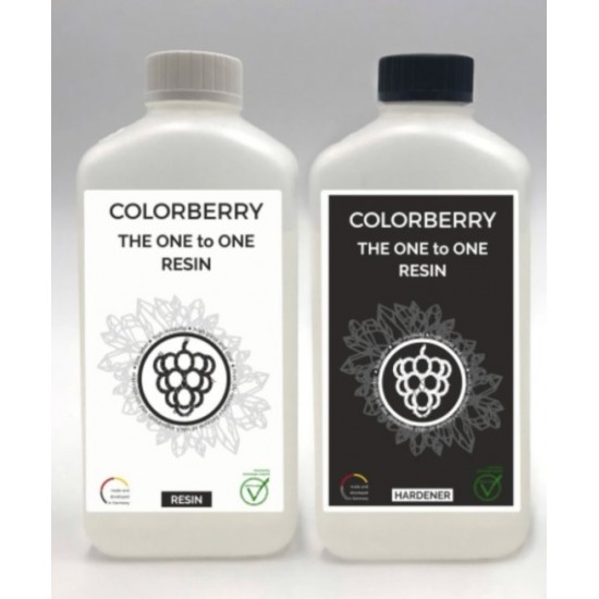 COLORBERRY THE ONE TO ONE RESIN (2000ml) - Rasina Epoxidica 1+1