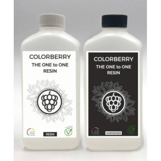 COLORBERRY THE ONE TO ONE RESIN (2000ml) - Rasina Epoxidica 1+1
